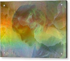 Angel In My Dreams Acrylic Print by Shirley Sirois