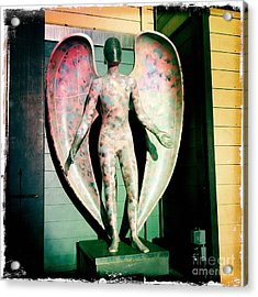 Acrylic Print featuring the photograph Angel In The City Of Angels by Nina Prommer