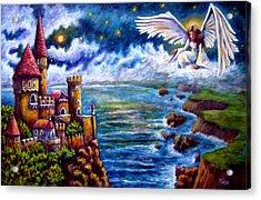 Angel In The Sky Acrylic Print