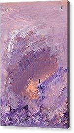 Angel Kali Acrylic Print by Henry Rowland