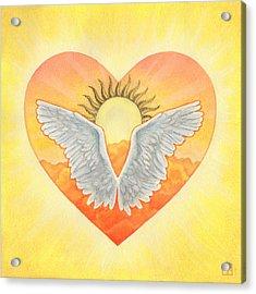 Angel Acrylic Print by Lisa Kretchman