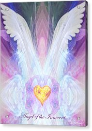 Angel Of The Innocent Acrylic Print