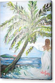 Angel Of The Sea Acrylic Print