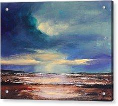 Angel Sky Acrylic Print by Toni Grote