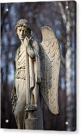 Angel Statue Acrylic Print by Artur Bogacki