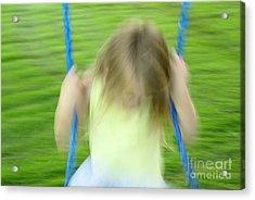 Angel Swing Acrylic Print by Aimelle
