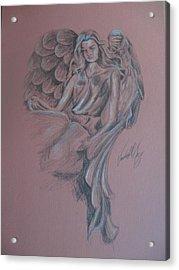 Angelica Acrylic Print by Vanderbill King