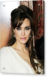 Angelina Jolie At Arrivals For The Acrylic Print by Everett