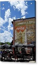 Angell's Deli Acrylic Print by Anjanette Douglas