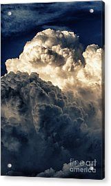 Angels And Demons Acrylic Print by Syed Aqueel