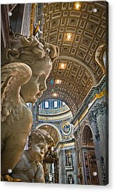 Angels At The Vatican 2 Acrylic Print