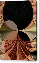 Angels Encircle Acrylic Print by Mary Ann Southern