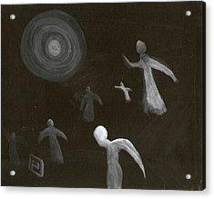 Angels In Flight Acrylic Print by Peter  McPartlin