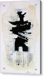 Anger Number Six Acrylic Print by Mark M  Mellon
