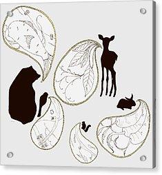 Animal Sounds Acrylic Print by Marcia Wood