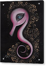 Anka Acrylic Print by  Abril Andrade Griffith