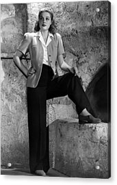 Ann Sheridan, Warner Brothers Portrait Acrylic Print by Everett