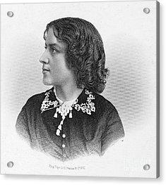 Anna Elizabeth Dickinson Acrylic Print by Granger