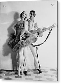 Anna Pavlova 1885-1931 Dancing Partner Acrylic Print by Everett