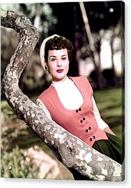 Anne Of The Indies, Jean Peters, 1951 Acrylic Print by Everett