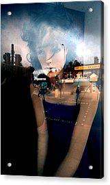 Annette Acrylic Print by Jez C Self