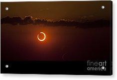 Annular Solar Eclipse Acrylic Print by Phillip Jones