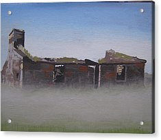 Another Abandoned Croft Acrylic Print by Eric Burgess-Ray