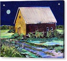 Another Barn Painting Acrylic Print