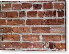 Another Brick In The Wall Acrylic Print by Heidi Smith