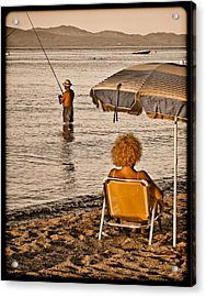 Hanioti, Greece - Another Day In Paradise Acrylic Print