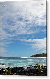 Acrylic Print featuring the photograph Another Sunny Sunday In Hawaii by Kerri Ligatich