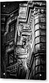 Ansonia Building Detail 1 Acrylic Print by Val Black Russian Tourchin