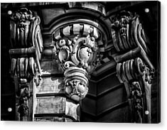 Ansonia Building Detail 12 Acrylic Print by Val Black Russian Tourchin