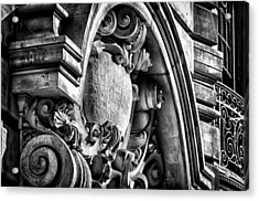 Ansonia Building Detail 19 Acrylic Print by Val Black Russian Tourchin