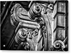 Ansonia Building Detail 21 Acrylic Print by Val Black Russian Tourchin