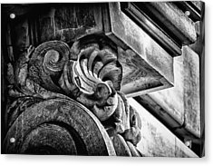 Ansonia Building Detail 24 Acrylic Print by Val Black Russian Tourchin