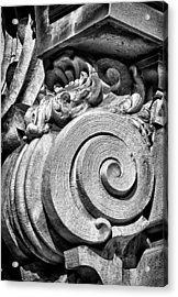 Ansonia Building Detail 29 Acrylic Print by Val Black Russian Tourchin