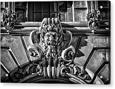 Ansonia Building Detail 3 Acrylic Print by Val Black Russian Tourchin