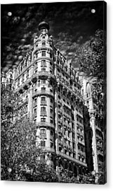Ansonia Building Detail 32 Acrylic Print by Val Black Russian Tourchin