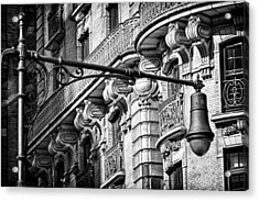 Ansonia Building Detail 34 Acrylic Print by Val Black Russian Tourchin