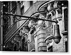 Ansonia Building Detail 35 Acrylic Print by Val Black Russian Tourchin