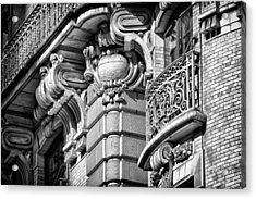 Ansonia Building Detail 37 Acrylic Print by Val Black Russian Tourchin