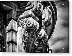 Ansonia Building Detail 38 Acrylic Print by Val Black Russian Tourchin