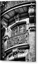 Ansonia Building Detail 43 Acrylic Print by Val Black Russian Tourchin