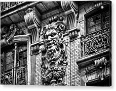 Ansonia Building Detail 44 Acrylic Print by Val Black Russian Tourchin