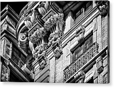Ansonia Building Detail 45 Acrylic Print by Val Black Russian Tourchin