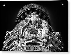 Ansonia Building Detail 47 Acrylic Print by Val Black Russian Tourchin