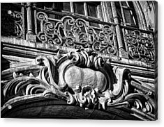 Ansonia Building Detail 5 Acrylic Print by Val Black Russian Tourchin