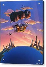 Ant Airship  Acrylic Print by Robin Moline