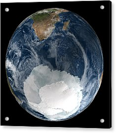 Antarctic Ice Sheet Maximum, 2005 Acrylic Print by Nsidcnasa